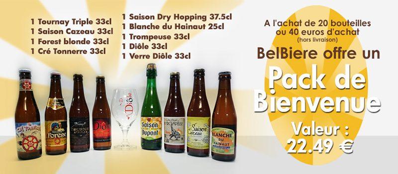 Promotions spéciales sur nos bières