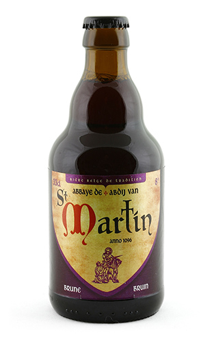 saint martin brune 33cl