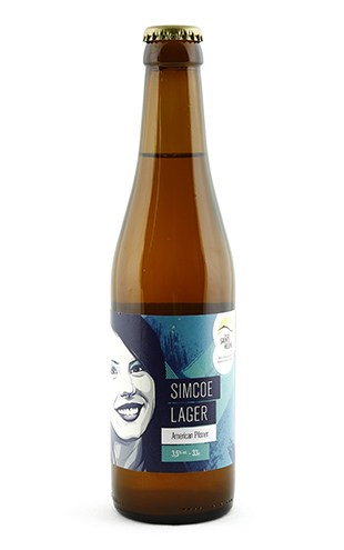 Simcoe Lager 33cl