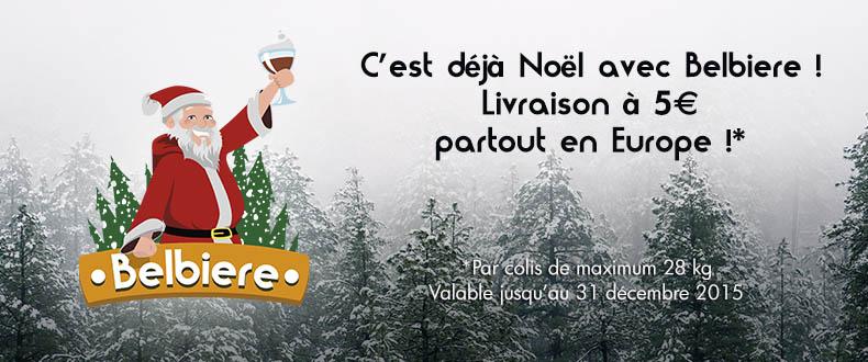 Promotion de noël – 5€ la livraison partout en Europe