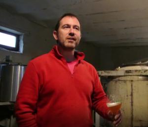 Image Belbiere en visite à la brasserie du Brabant – Bières Origame, Saison, Amarillo Mon Amour, Stout, DIPA