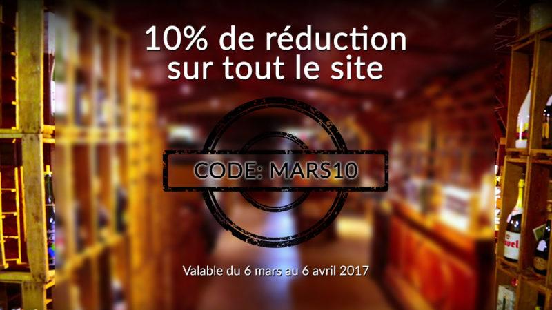 Image Promotion - 10% sur tout le site