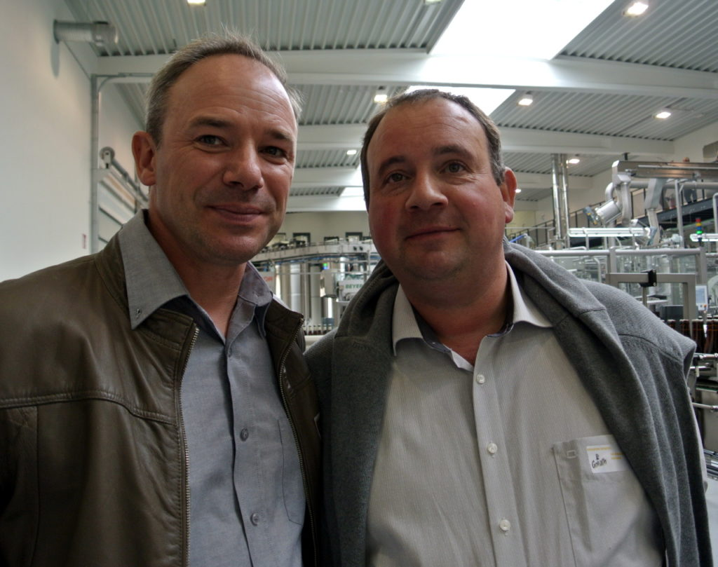Pierre Delcoigne et Alexandre Delneste