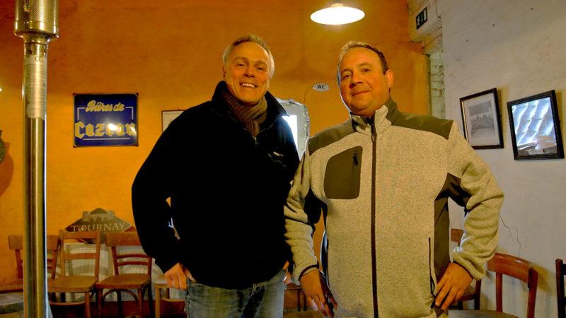 Visite de la brasserie de Cazeau