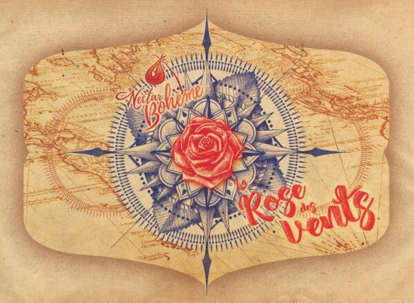 Rose Des Vents 75cl - Nectar Bohème