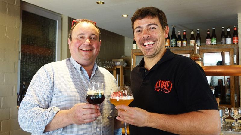Alexandre Delneste et Alexandre Cous Art (Brasserie de Silly)