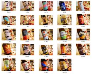 Image Les bières du calendrier de l'avent 2019