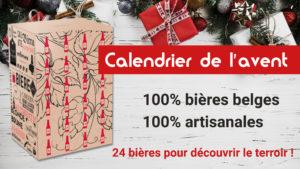 Image Code-Promo : Calendrier de l'avent bières belges 2020