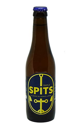 Spitis triple - bière blonde dorée brassée par la brasserie artisanale du grand large de Péronnes