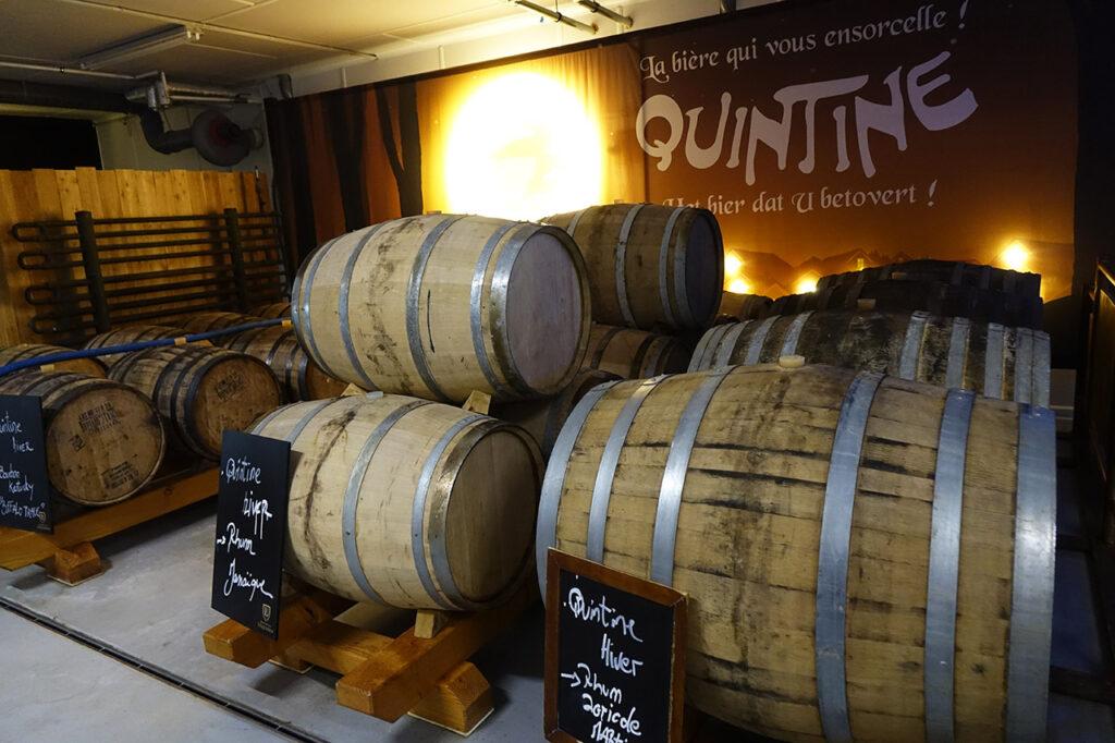 Chai de la Brasserie Quintine