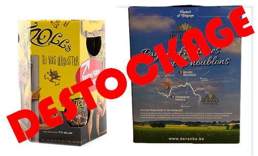 Déstockage coffrets bières belges action de -10 à -50%